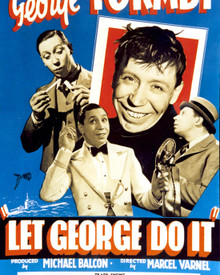 Poster & George Formby in Let George Do It Poster and Photo