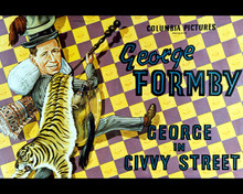 Poster & George Formby in George in Civvy Street Poster and Photo