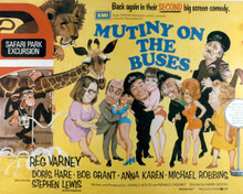Poster & Reg Varney in Mutiny On the Buses Poster and Photo