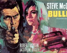 Poster & Steve McQueen in Bullitt Poster and Photo