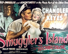Poster & Jeff Chandler in Smuggler's Island Poster and Photo