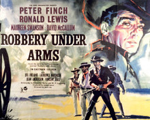 Poster & Peter Finch in Robbery Under Arms Poster and Photo