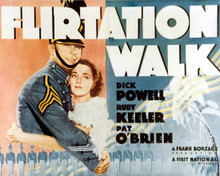 Poster & Dick Powell in Flirtation Walk Poster and Photo