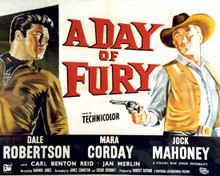 Poster & Dale Robertson in A Day of Fury Poster and Photo