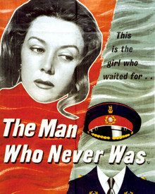 Poster & Clifton Webb in The Man Who Never Was Poster and Photo