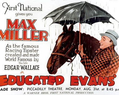 Poster & Max Miller in Educated Evans Poster and Photo