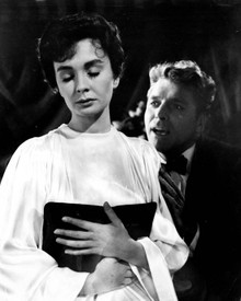 Burt Lancaster & Jean Simmons in Elmer Gantry Poster and Photo