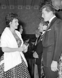 Kirk Douglas & Princess Margaret Poster and Photo