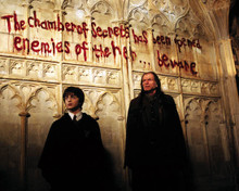 Daniel Radcliffe & David Bradley in Harry Potter and the Chamber of Secrets Poster and Photo