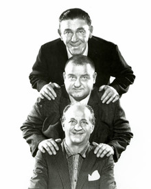 The Three Stooges & Moe Howard Poster and Photo