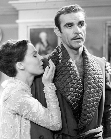 Sean Connery & Claire Bloom in Anna Karenina (1961) Poster and Photo