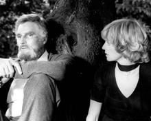 Charlton Heston & Susannah York in The Awakening (1980) Poster and Photo