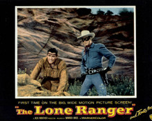 Poster & Clayton Moore in The Lone Ranger Poster and Photo