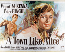 Poster & Peter Finch in A Town Like Alice Poster and Photo