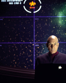 Patrick Stewart in Star Trek: Nemesis Poster and Photo