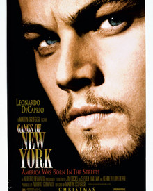 Poster & Leonardo DiCaprio in Gangs of New York Poster and Photo