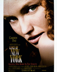 Poster & Cameron Diaz in Gangs of New York Poster and Photo