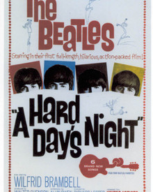 Poster of A Hard Day's Night Poster and Photo