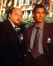 Jimmy Smits & Dennis Franz in N.Y.P.D. Blue Poster and Photo