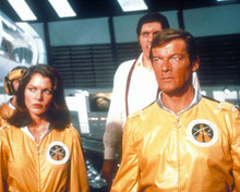 Roger Moore & Lois Chiles in Moonraker Poster and Photo