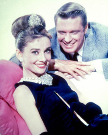 Audrey Hepburn & George Peppard in Breakfast at Tiffany's Poster and Photo