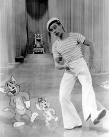 Gene Kelly & Tom and Jerry in Anchors Aweigh Poster and Photo