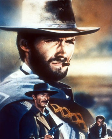 Clint Eastwood in The Good, the Bad and the Ugly a.k.a. Il Buono, il Brutto, il cattivo Poster and Photo