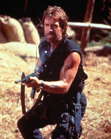 Chuck Norris in Delta Force 2 Poster and Photo