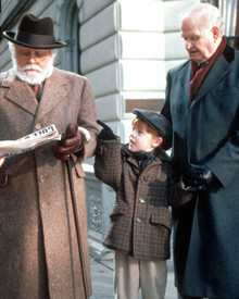 Richard Attenborough & Casey Moses Wurzbach in Miracle on 34th Street (1994) Poster and Photo
