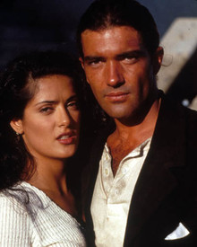 Antonio Banderas & Salma Hayek in Desperado Poster and Photo