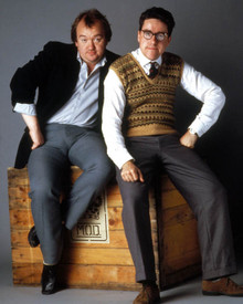 Mel Smith & Griff Rhys Jones in Morons from Outer Space Poster and Photo