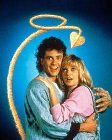 Scott Valentine & Michelle Little in My Demon Lover Poster and Photo