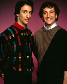 Bronson Pinchot & Mark Linn-Baker in Perfect Strangers Poster and Photo