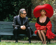 Sophia Loren & Marcello Mastroianni in Pret-a-Porter Poster and Photo