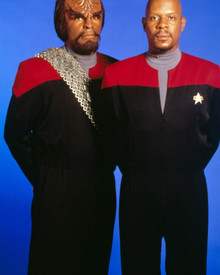 Michael Dorn & Avery Brooks in Star Trek : Deep Space Nine Poster and Photo