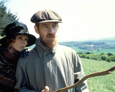 Ian McKellen & Janet Suzman in Priest of Love Poster and Photo
