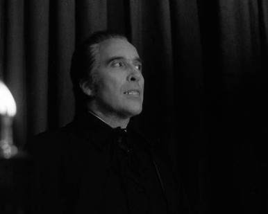 Christopher Lee in The Satanic Rites of Dracula aka Dracula and his Vampire Bride Poster and Photo