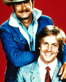 Jameson Parker & Gerald McRaney in Simon and Simon Poster and Photo