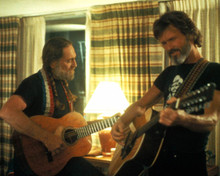 Willie Nelson & Kris Kristofferson in Songwriter Poster and Photo