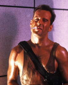 Bruce Willis in Die Hard Poster and Photo