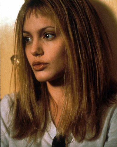 Angelina Jolie in Girl Interrupted Poster and Photo