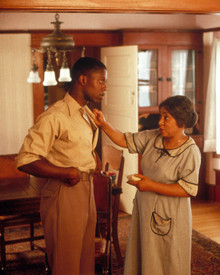 Andre Braugher & Ruby Dee in The Court-Martial of Jackie Robinson Poster and Photo
