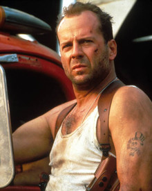 Bruce Willis in Die Hard with a Vengeance Poster and Photo