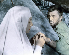 Deborah Kerr & Robert Mitchum in Heaven Knows, Mr Allison aka Dieu Seul le Sait Poster and Photo