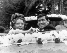 George Lazenby & Diana Rigg in On Her Majesty's Secret Service Poster and Photo