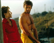 Hugh Jackman & Halle Berry in Swordfish Poster and Photo