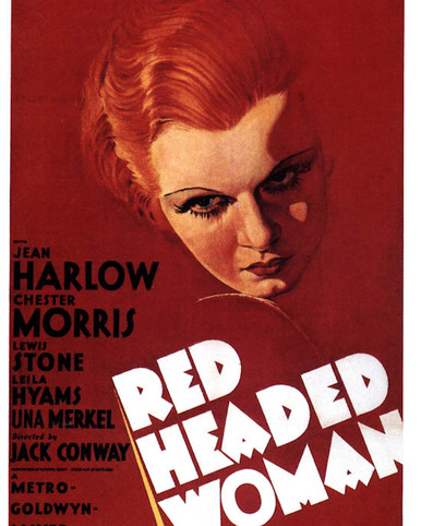 Poster of Red-Headed Woman Poster and Photo