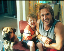 David Arquette & Angus T. Jones in See Spot Run Poster and Photo