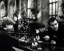 Chris Columbus & Rupert Grint in Harry Potter and the Philosopher's Stone aka Harry Potter and the Sorcerer's Stone aka Harry Potter a l'ecole des sorciers Poster and Photo