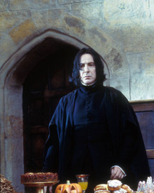 Alan Rickman in Harry Potter and the Philosopher's Stone aka Harry Potter and the Sorcerer's Stone aka Harry Potter a l'ecole des sorciers Poster and Photo